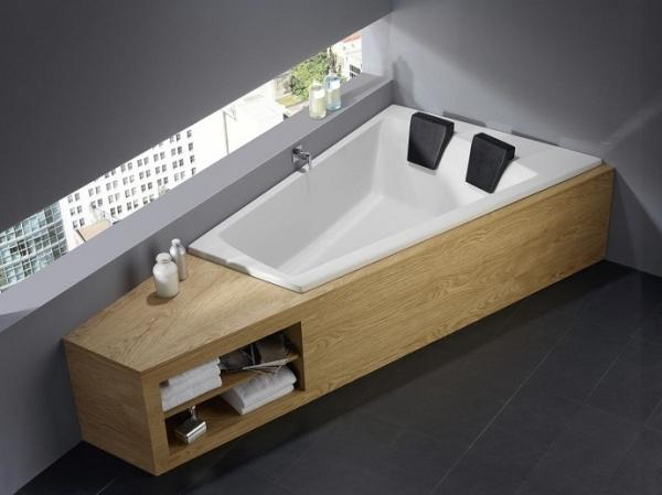 double bathtub for romantic moments adorable home. Black Bedroom Furniture Sets. Home Design Ideas
