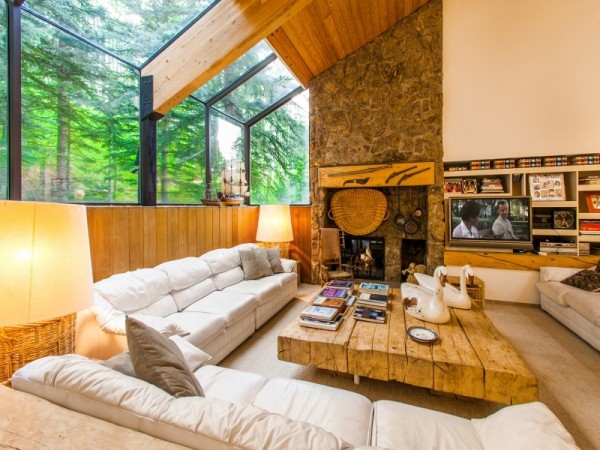 Dream house in the woods mountain cabin (1)