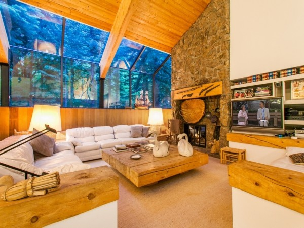 Dream house in the woods mountain cabin (3)