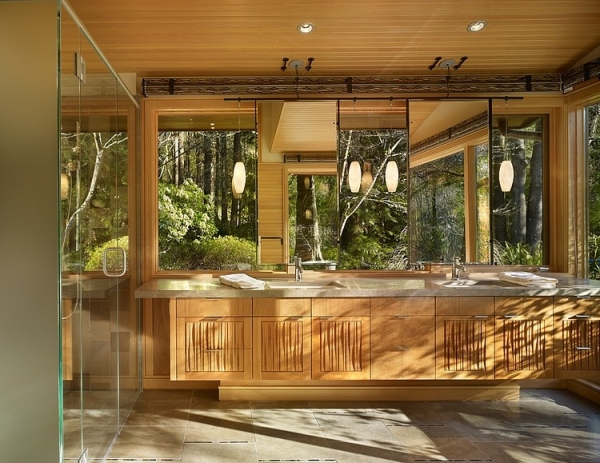 Earthy And Luxurious A Wood Interior Adorable Home