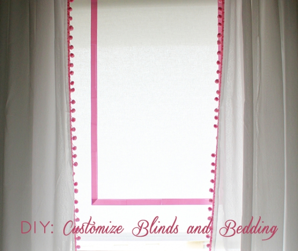Easy Diy Blinds And Diy Bedding Adorable Home