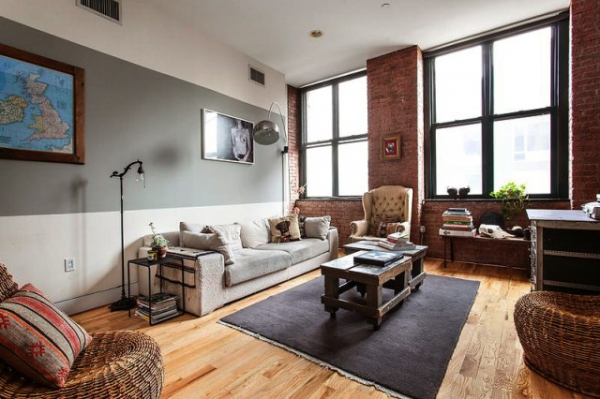 Eclectic apartment in the Bronx (1)