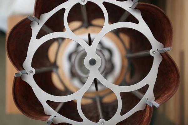 Elegant contemporary wood lamps (3)