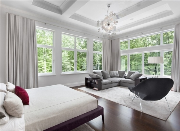Elegant Grey And White Interior Adorable Home