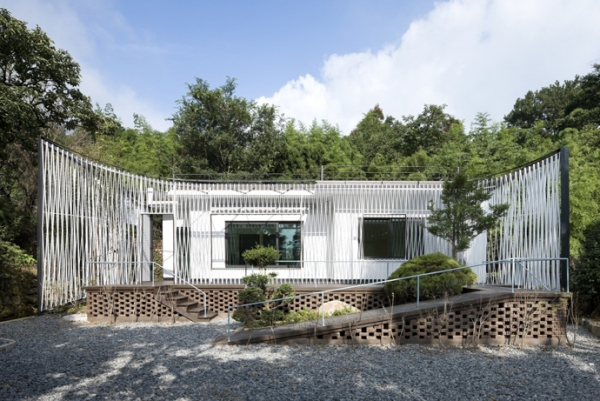 Energy-efficient house with interesting architectural design (2)