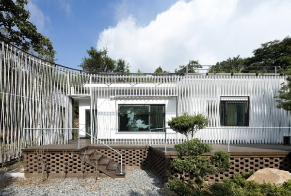 Energy-efficient house with interesting architectural design (3)