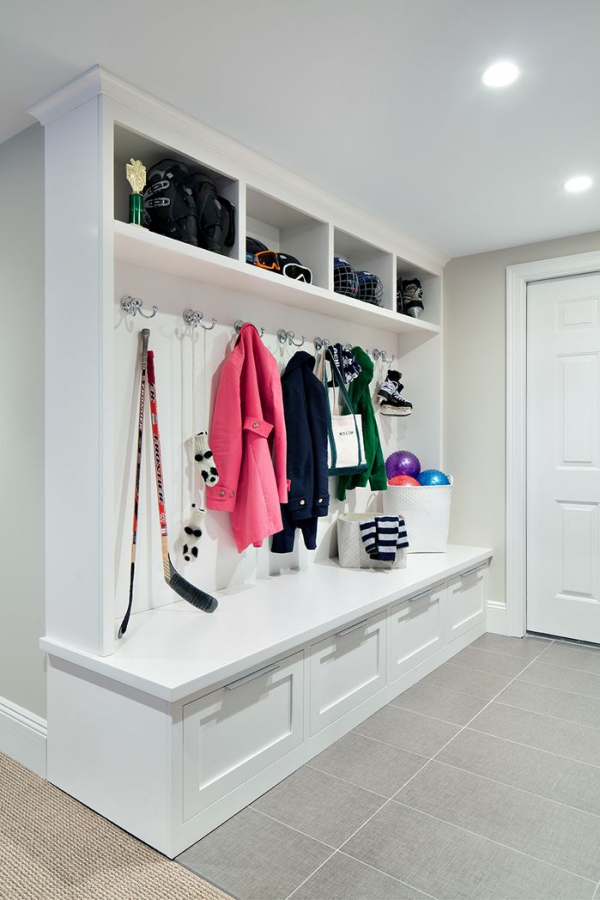 Entryway Bench And Storage Unit