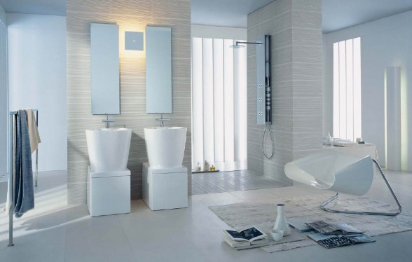 Stylish Bathrooms Interesting Exceptionally Stylish Bathrooms  Adorable Home