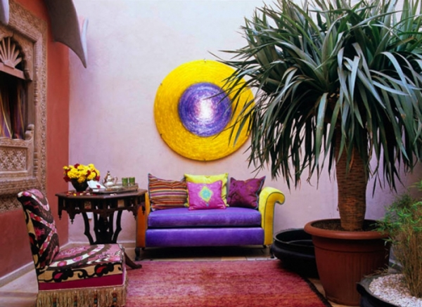 Exotic Interior In Marrakech Adorable Home