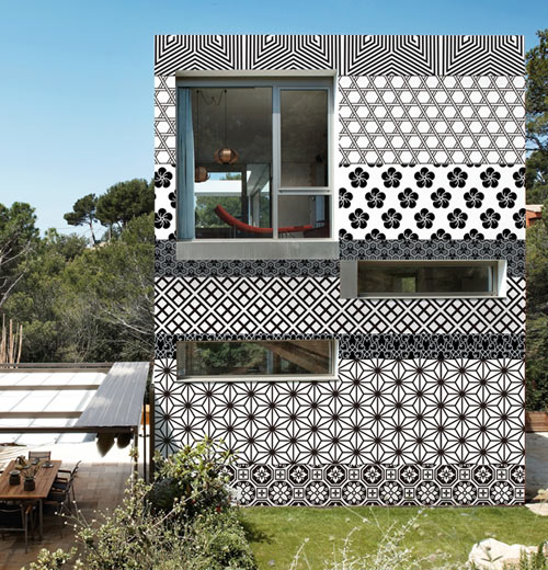 exterior wallpapers 1 - Exterior Wall Designs