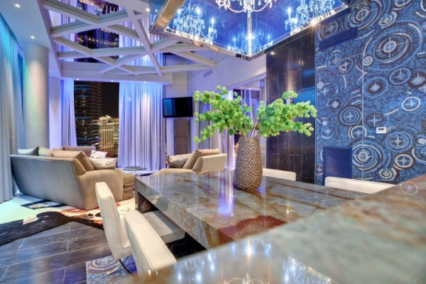 Extraordinary penthouse Las Vegas city center (4)
