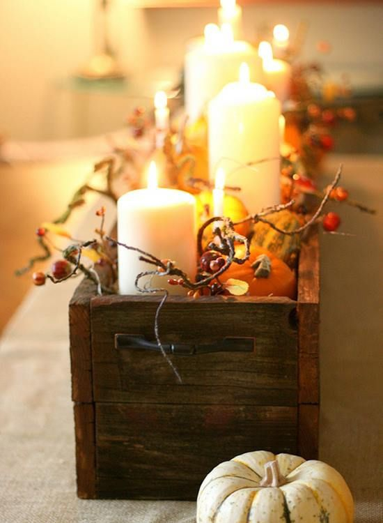 Fall decor ideas adorable home for Fall decorations for home