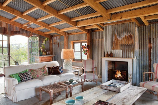 Farmhouse Beautifully Transformed Into A Rustic Home