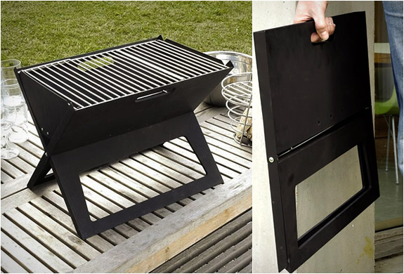 Notebook Portable Grill 1