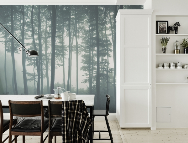 Forest Wall Murals For A Serene Home Decor Adorable Home