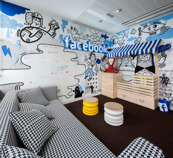 attic office design ideas - Funky fice Design for in Poland – Adorable Home