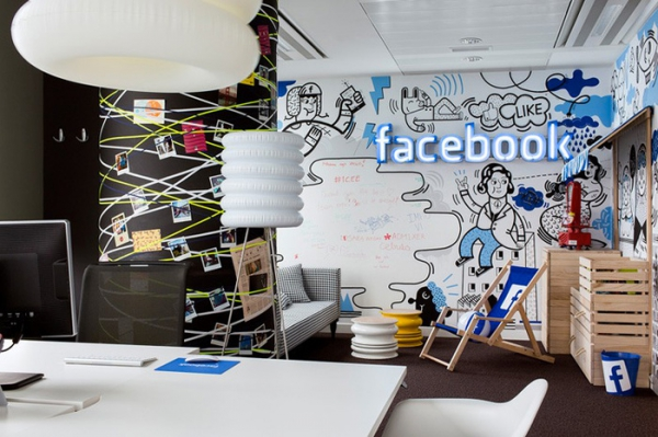 Funky Office Design For Facebook (2)