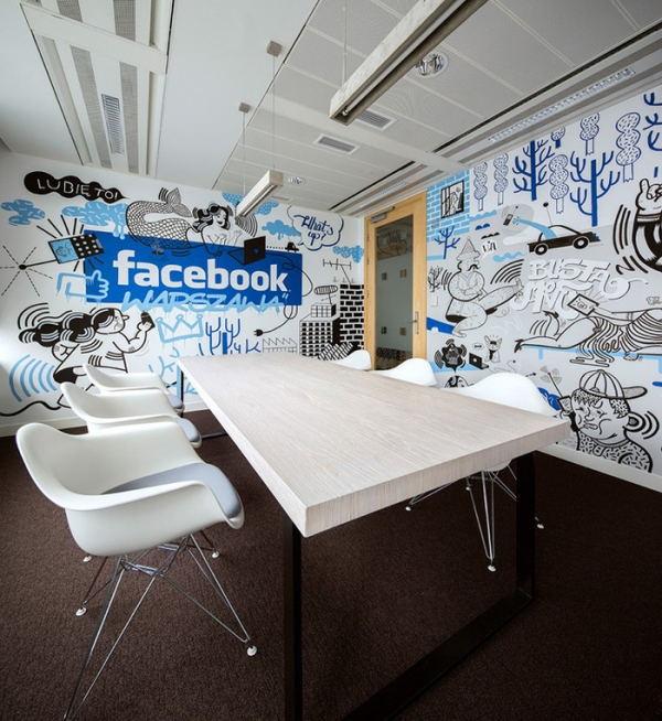 Funky Office Design For Facebook (3)