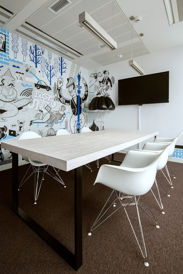 Good Funky Office Design For Facebook (4)