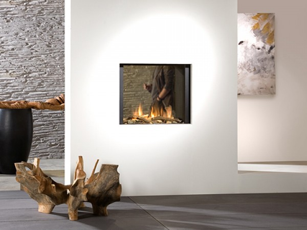 Modern fireplaces - Bright