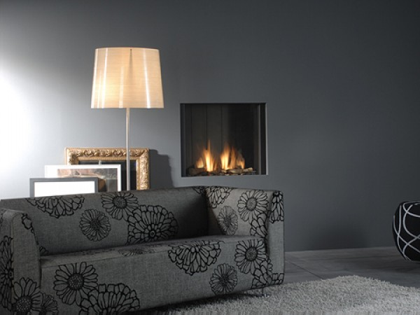 Modern fireplaces - Clear