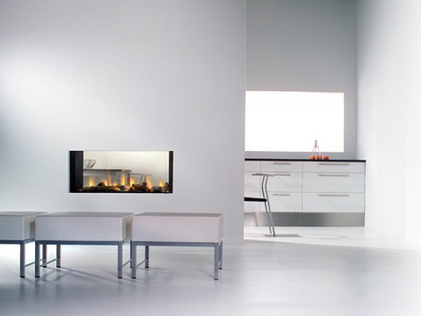 Modern fireplaces - Glance
