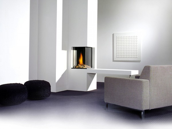 Modern fireplaces - Honest