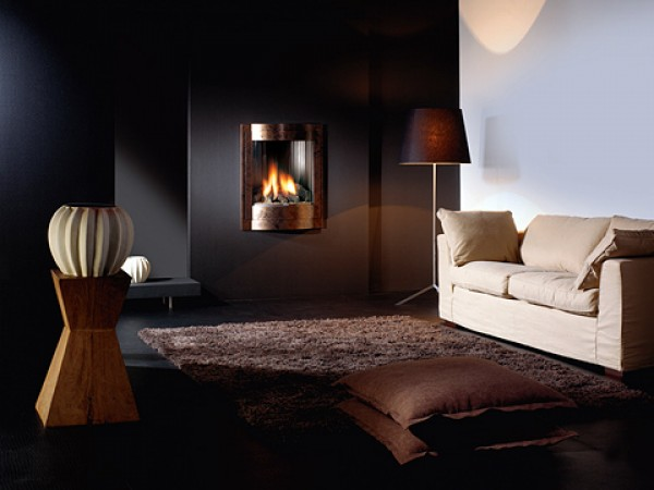 Modern fireplaces - Misty
