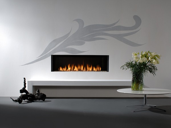 Modern fireplaces - Relaxed