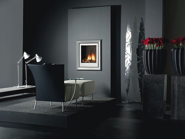 Modern fireplaces - Silva