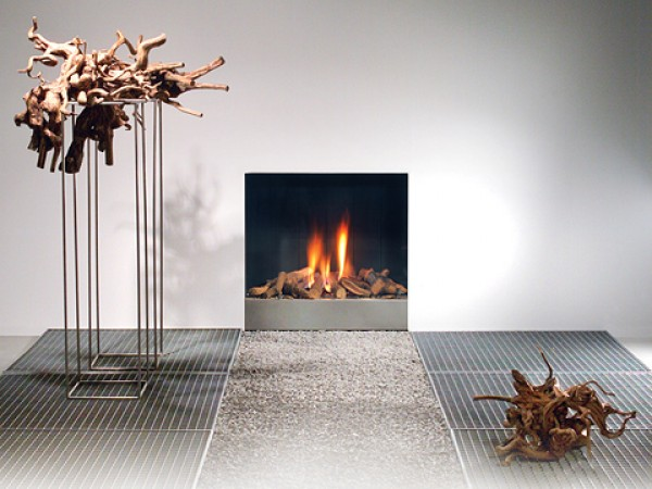Modern fireplaces - Frameless