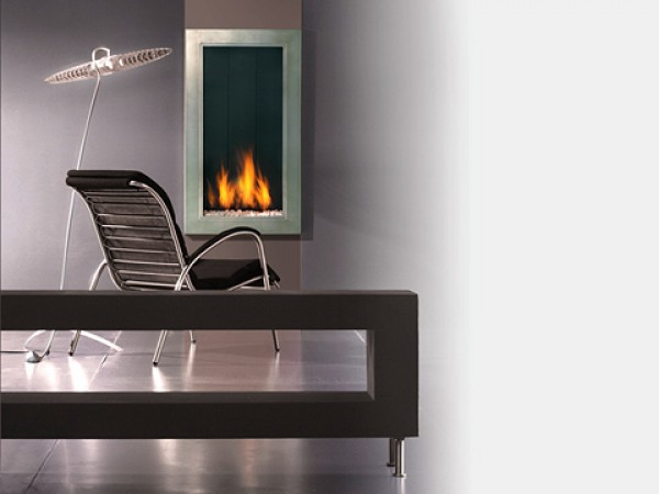 Modern fireplaces - Straight