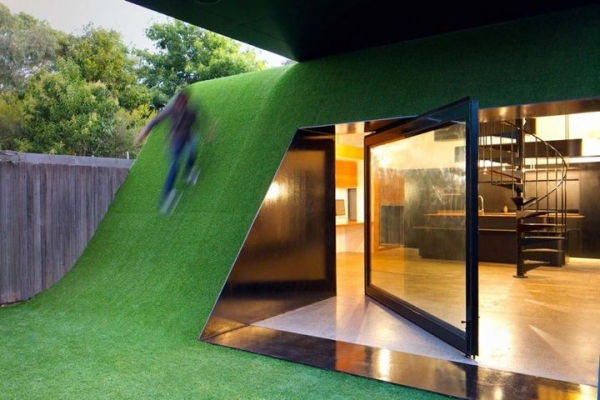 Futuristic house design adorable home for Futuristic home designs