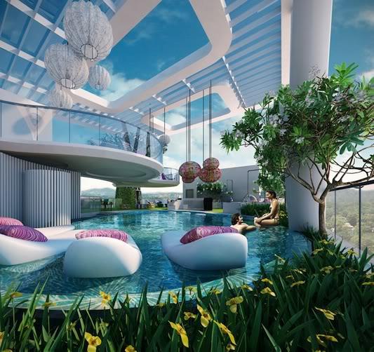 Futuristic interior by missoni home adorable home - Futuristic house interior ...