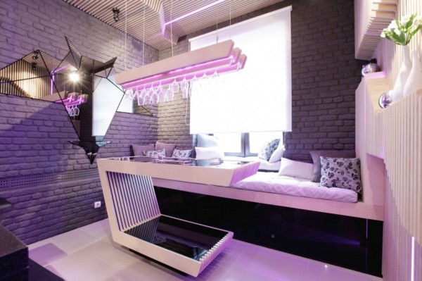 futuristic kitchen by geometrix design - Futuristic Kitchen