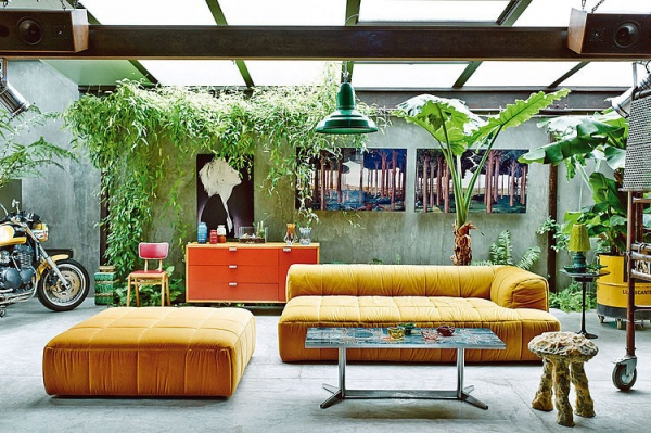 Garage chic eclectic home decor taken up a notch (1)