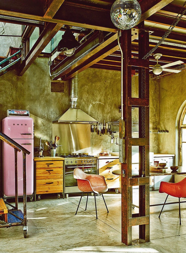 Garage chic eclectic home decor taken up a notch