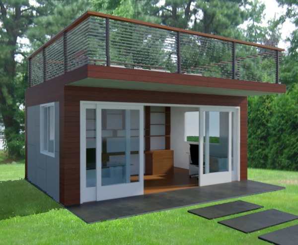 wonderful-garden-office-with-roof-deck-1