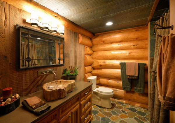 Get inspired rustic bathroom designs for the modern home (7)