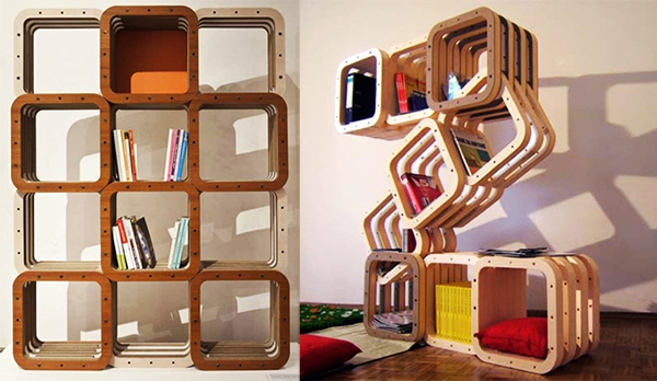 modular home library  1. Dynamic Modular Home Library   Adorable Home