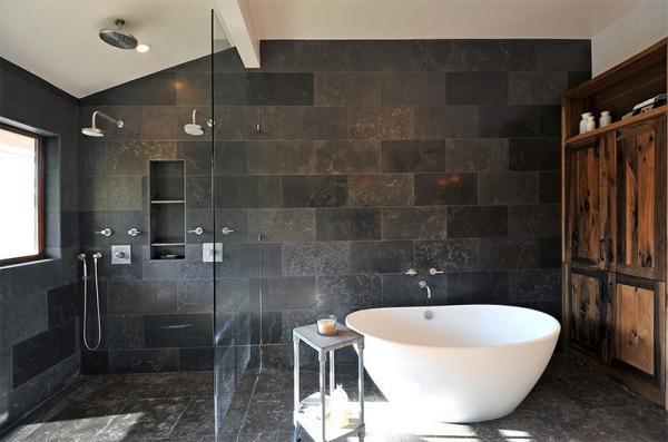 24 Innovative Bathroom Ideas Charcoal Tiles | eyagci.com