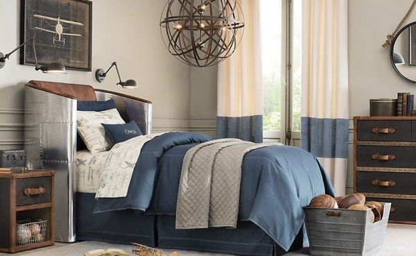 7 Inspiring Kid Room Color Options For Your Little Ones: Handsome And Creative Boys Bedroom Ideas