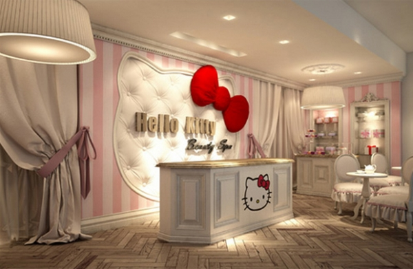 hello kitty interior design adorable home. Black Bedroom Furniture Sets. Home Design Ideas
