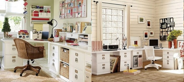 Home Office Design Ideas 30 shared home office ideas that are functional and beautiful Home Office Design Ideas 3
