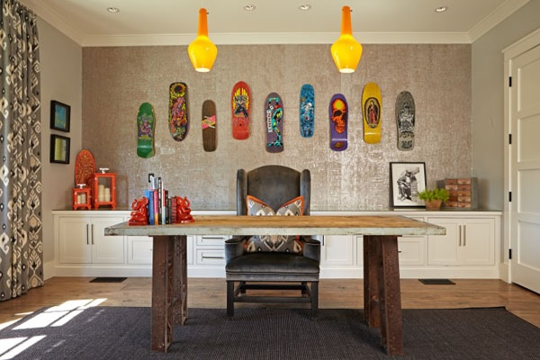 Home owners pull off a well organized eclectic house interior (19)