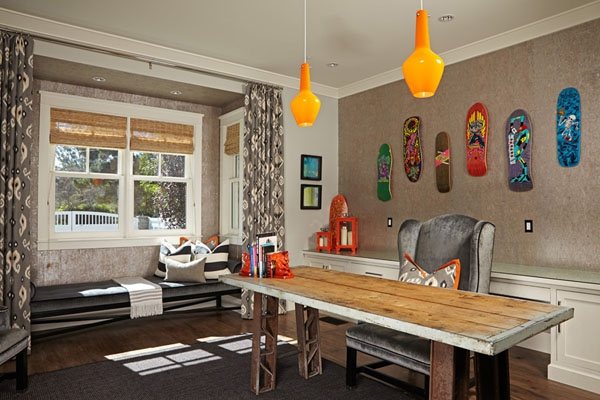 Home owners pull off a well organized eclectic house interior (20)
