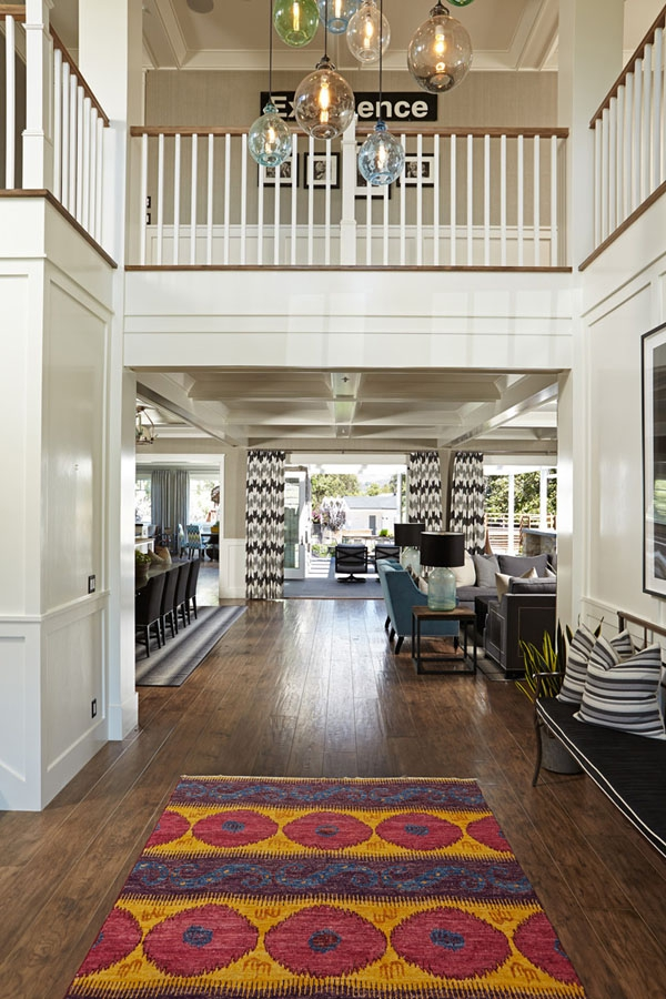 Home owners pull off a well organized eclectic house interior (3)