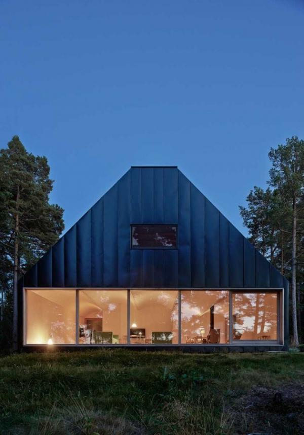 Scandinavian family vacation house (2)