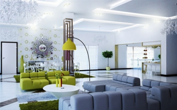 Apply Contemporary Style In The Living Room Adorable Home