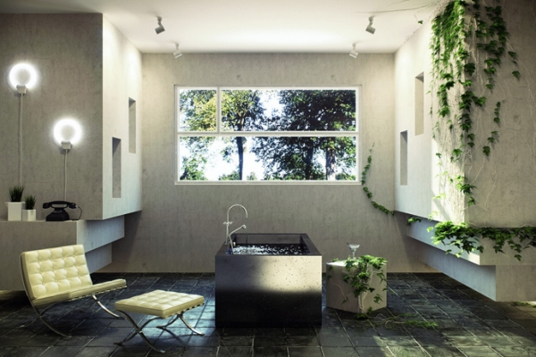 How to get a modern stylish bathroom adorable home for Salle de bain originale